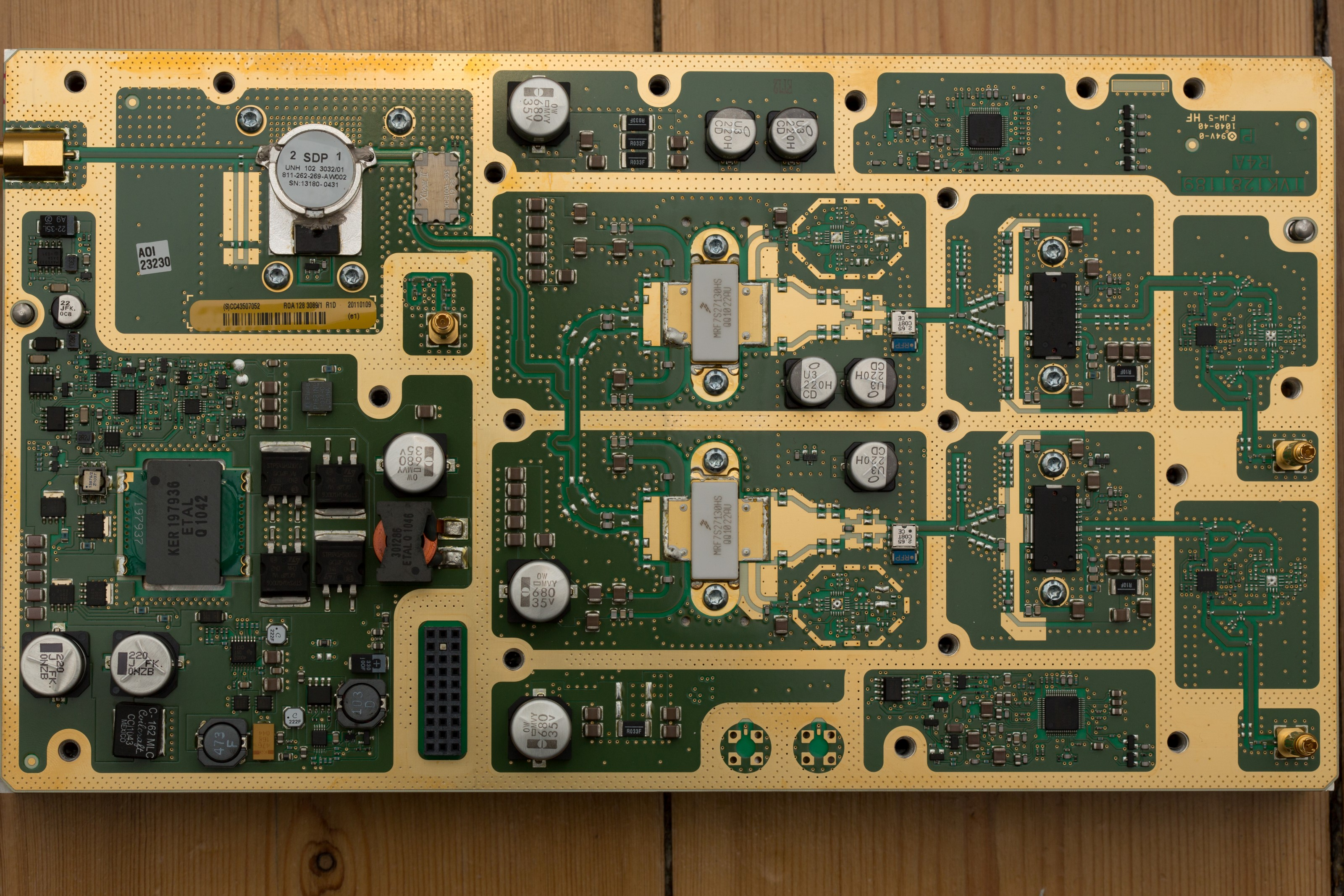 Ericsson Radio Base Station RBS6000 teardown