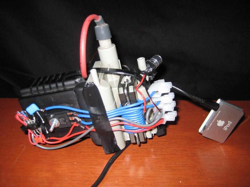 555 Audio modulated flyback