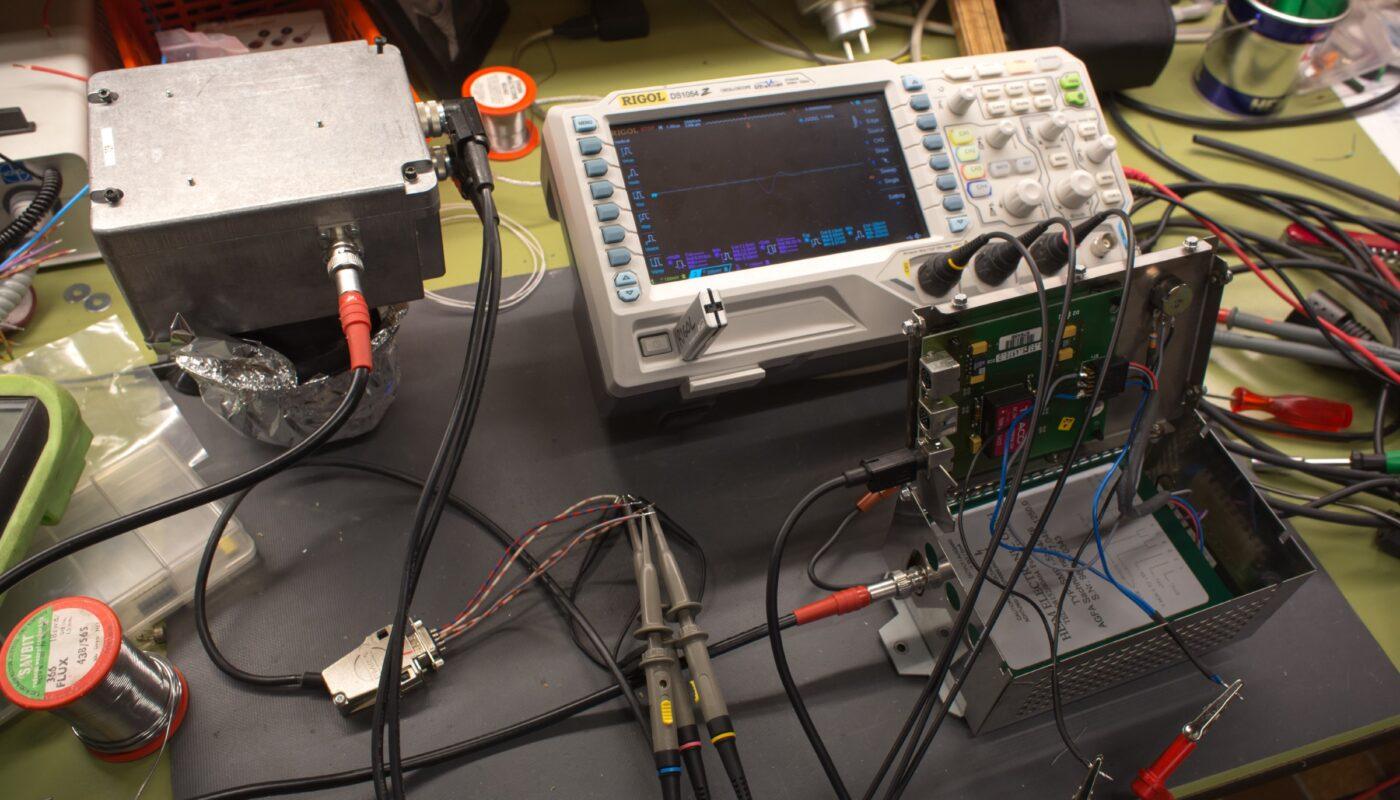 PMT particle detection