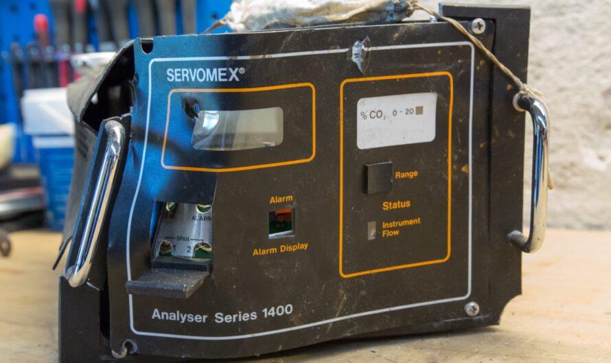 Teardown of Servomex CO2 Analyzer 1400 Series