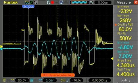 tesla coil drsstc waveform