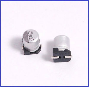 CS 10 16V electrolytic capacitor