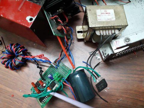 electronics breadboard circuit