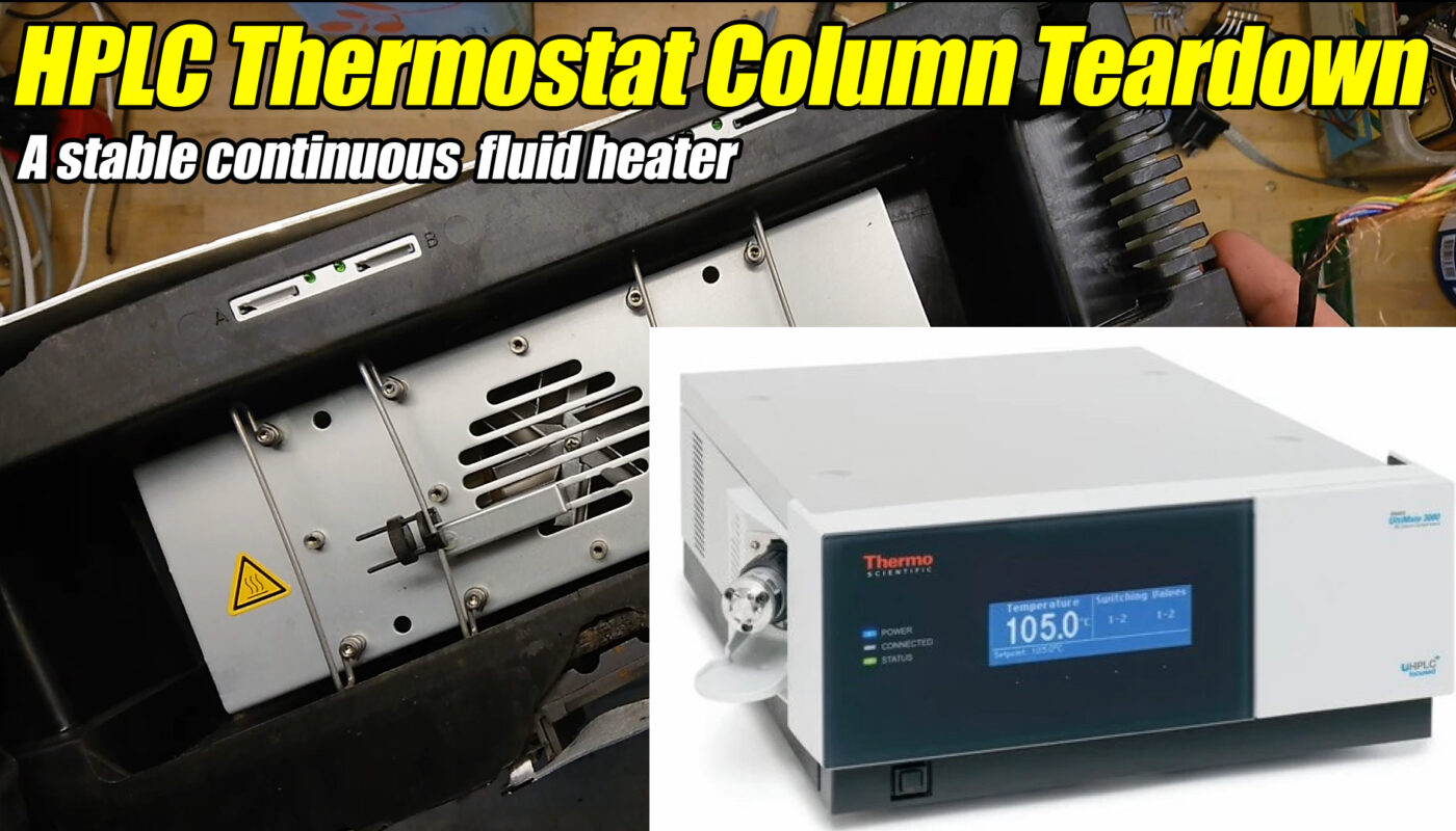 thermostatted column liquid chromatography