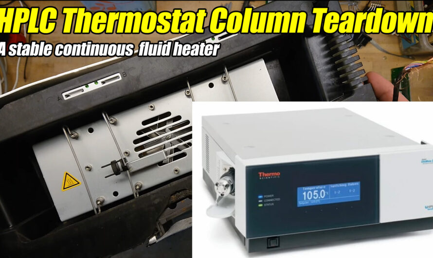 HPLC Thermostatted Column Teardown – Dionix TCC-3000SD