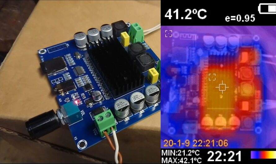 Chinese 2x100W TDA7498 Amplifier – Test and THD+n Measurements