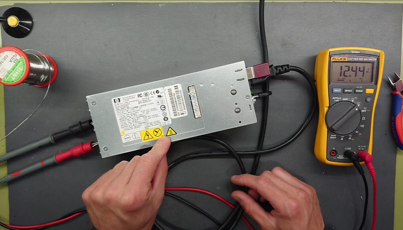 Server PSU Hack - HP DPS-800GB A 12VDC 1000W