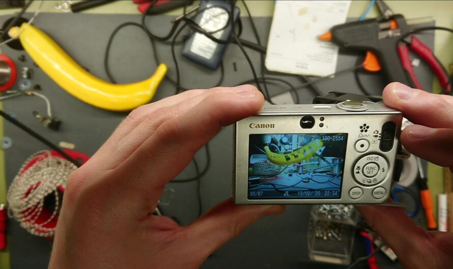 Canon Ixus V70 Hack with CHDK for High Speed Photography