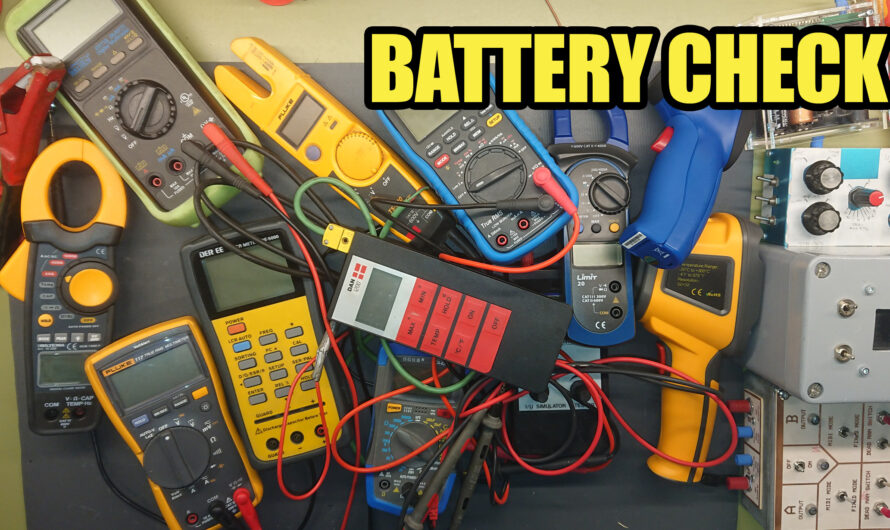 Yearly Battery Check – My 2021 New Year Resolution.
