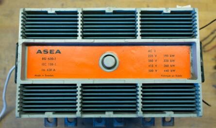 ASEA EG-1 630A / 440 kW Contactor