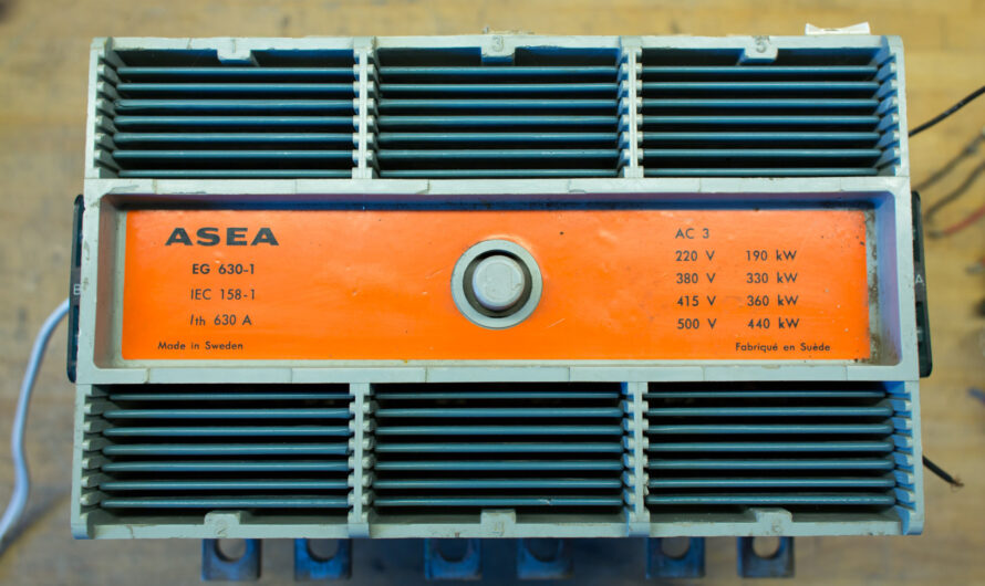 Vintage ASEA EG-1 630A / 440 kW Contactor Test and Teardown