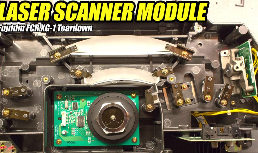 Fujifilm FCR XG-1 X-ray Laser Module Teardown (Part 2 of 3)