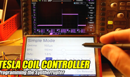tesla coil controller music midi interrupter