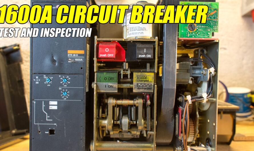 Merlin Gerin Masterpact M16N1 – 1600A Circuit Breaker Test
